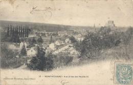 .10. MONTRICHARD . VUE PRISE DES HAUTEURS .. Imp BLONDEAU ..NOMBREUSES OBLIT AU VERSO DE 1904 .. 2 SCANES .. - Montrichard