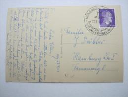 1943 , Marienburg , Werbestempel Auf Beleg - Briefe U. Dokumente