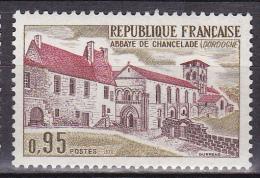 N° 1645 Série Touristique: Abbaye De Chancelade Dordogne: 1 Timbre Neuf Sans Charnière - France