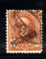 Y1483 - FILIPPINE 1899 , 10 Cent Yvert N. 183 Usato - Philippines