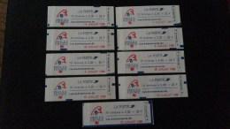 9 Carnets Différents N° 2376-C12 Neuf **  TTB - Carnets