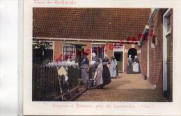 CHROMO CACAO VAN HOUTEN - VUE DE HOLLANDE- HOSPICE A MARSSUM PRES DE LEEUWARDEN -FRISE - Van Houten
