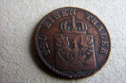 1859 A 3 Pfennige - [ 1] …-1871 : Etats Allemands