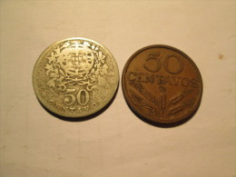 PORTUGAL 50  Centavos 1928 1969 # 3 - Portugal