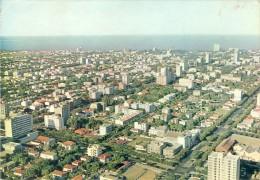 MOÇAMBIQUE, LOURENÇO MARQUES, Vista Aérea Da Cidade, 2 Scans PORTUGAL - Mosambik