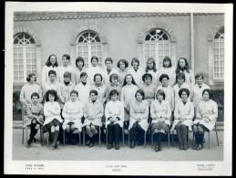 Photo Originale Lycée Jean Macé Rennes 1964-1965 -- Tourte Et Petitin Levallois Perret   M1 - Lieux
