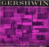 * LP *  GERSHWIN PIANO CONCERTO IN F; THREE PRELUDES FOR PIANO; PORGY AND BESS SUITE (UK 1962 EX-!!!) - Klassiekers