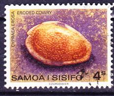 Samoa - Meeresschnecke (Cypraea Erosa) (Mi.Nr. 383) 1978 - Gest. Used Obl - Samoa
