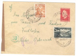 XIO274/75 JUGOSLAWIEN 1952 BRIEF  Mit Zensurstempel Siehe ABBILDUNG - 1945-1992 Repubblica Socialista Federale Di Jugoslavia