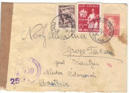 XIO280/81  JUGOSLAWIEN 1952 BRIEF Mit Zensurstempel Siehe ABBILDUNG - 1945-1992 Repubblica Socialista Federale Di Jugoslavia