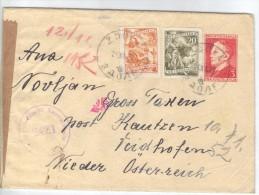 XIO286/87  JUGOSLAWIEN 1952 BRIEF Mit INHALT UndZensurstempel Siehe ABBILDUNG - Covers & Documents