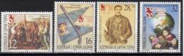 Yugoslavia,Definitive-200 Years Of First Serbian Uprising 2004.,MNH - 1992-2003 República Federal De Yugoslavia