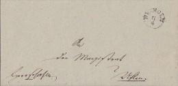 Brief Von K1 Detmold Vom 8.4.1849 Nach K2 Salzuffeln - Deutschland