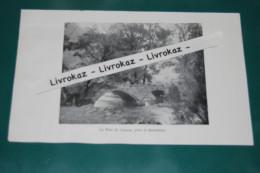 Le Pont Du Lançot, Près Le Séminaire, Doubs, Consolation-Maisonnettes, Photo Extraite D´un Livre Paru En 1904 - Vieux Papiers