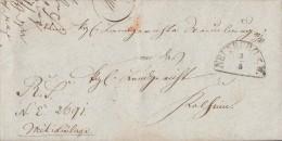 Bayern Brief Von Neunburg Vom 3.3.63 Halbkreisstempel - Bayern