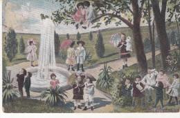 Enfants Dans Un Paysage - Escenas & Paisajes