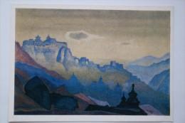 "Tibet, ""Ladak"" By Roerich, Old  Postcard - Tibet"
