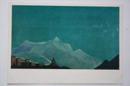 "Tibet, ""King Monastery"" By Roerich, Old  Postcard - Tibet"