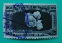 PANAMÁ. FLORA - FLORES. USADO - USED. - Panamá