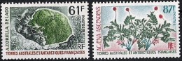 T.A.A.F Terres Australes 1974 Yvertnr. 52-53 *** MNH Cote 14,20 Euro Flore - Unused Stamps
