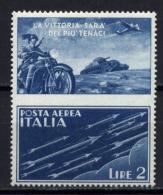 Italia Regno 1942 Propaganda Di Guerra Sass.PG12C **/MNH VF - Propaganda De Guerra