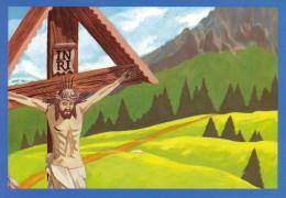 ASS. ITALIANA GUIDE E SCOUTS D´EUROPA CATTOLICI - PRIMO PIANO SUL CROCIFISSO - Scoutismo