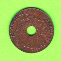 INDOCHINE FRANCAISE / 1 CENT. /1923    -  ETAT SUP - Colonies