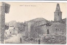 Essey Route De Maizerais Animée Destruction Apres Guerre Ww1  1919 - France