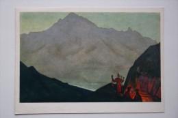 "Nicholas Roerich - ""Western Tibet"". 1931 HIMALAYA - Old USSR PC - Tibet"