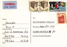 Postkarte Nach Deutschland (o040) - United States