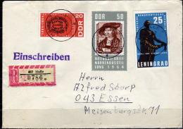 DDR 1964 -Recobeleg MiNr: 1048+1054+1058 - Storia Postale