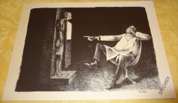 Illustration Spécimen - Claude Serre - Radiologue, Médecine - Format 37.5 X 27 Cm - Sérigraphies & Lithographies