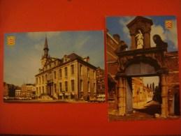 Lot De 4 Cartes De LIER --- Stadhuis - Ingang Begijnhof - Zimmertoren - Zimmertoren Achterkant - Lier