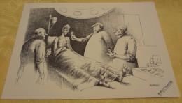 Illustration Spécimen - Claude Serre - Chirurgie, Médecine - Format 37.5 X 27 Cm - Sérigraphies & Lithographies