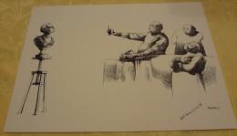 Illustration Spécimen - Claude Serre - Chirurgie Esthétique, Médecine - Format 37.5 X 27 Cm - Sérigraphies & Lithographies