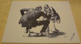 Illustration Spécimen - Claude Serre - Médecin Généraliste, Médecine - Format 37.5 X 27 Cm - Sérigraphies & Lithographies
