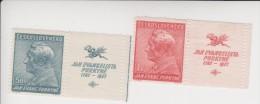 Tsjechoslowakije Michel-cataloog 377/378 Zf * - Czechoslovakia