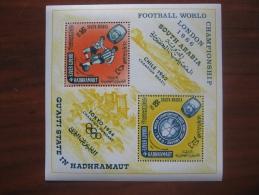 Aden Hadhramaut   1964  MNH  BL 1 - 1966 – Inglaterra