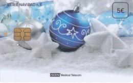 ISN-196 TARJETA DE ESPAÑA DE ISERN DE 5 EUROS DE LA SERIE NAVIDAD Nº6 (CHRISTMAS) - España