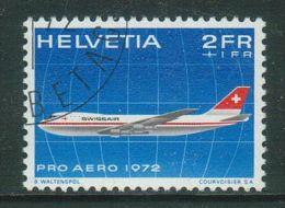 Suisse//Schweiz//Svizerra // Switzerland//Poste Aérienne Pro-aéro 1972 No. 47