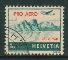 Suisse//Schweiz//Svizerra // Switzerland//Poste Aérienne Pro-aéro No.35