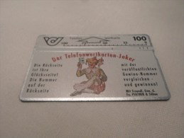 AUSTRIA - Nice Optical Phonecard As On Photo - Serial 106A - Autriche