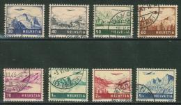 Suisse//Schweiz//Svizerra // Switzerland//Poste Aérienne  No. 27 à 34