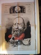LA LUNE  JOURNAL POLITIQUE ET CULTUREl  1867  GARIBALDI - Journaux - Quotidiens