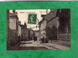Ermont Rue D'Eaubonne (envoi En 1910) - Ermont
