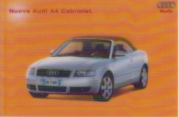 NUOVA AUDI A4 CABRIOLET - Werbepostkarten
