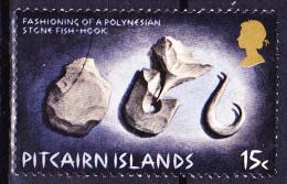 Pitcairn - Fischhaken Aus Stein (Mi.Nr. 121) 1971 - Gest. Used Obl - Pitcairn Islands