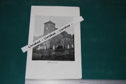 Consolation, Eglise De Laval, Doubs, Consolation-Maisonnettes, Photo Extraite D´un Livre Paru En 1904 - Otros