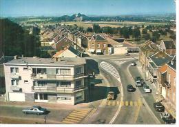 BLEGNY. TREMBLEUR. PLACE SAINTE GERTRUDE ET RUE DE LA STATION - Blégny