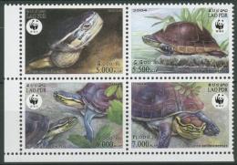 Laos 2004 Naturschutz: Amboina-Scharnier Schildkröte 1927/30 ZD Postfrisch - Laos
